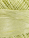 Состав пряжи 100% Микро-волокна, Brand YarnArt, Light Green, Yarn Thickness 0 Lace  Fingering Crochet Thread, fnt2-52265