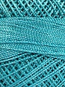 Состав пряжи 100% Микро-волокна, Brand YarnArt, Turquoise, Yarn Thickness 0 Lace  Fingering Crochet Thread, fnt2-52267