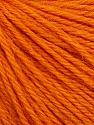 Fiber Content 55% Baby Alpaca, 45% Superwash Extrafine Merino Wool, Orange, Brand Ice Yarns, Yarn Thickness 3 Light  DK, Light, Worsted, fnt2-52766