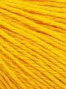 Fasergehalt 55% Baby Alpaka, 45% Superwash Extrafine Merino Wool, Yellow, Brand Ice Yarns, Yarn Thickness 3 Light  DK, Light, Worsted, fnt2-52767