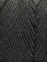 Items made with this yarn are machine washable & dryable. Fiber Content 100% Dralon Acrylic, Brand Ice Yarns, Anthracite Black, Yarn Thickness 4 Medium  Worsted, Afghan, Aran, fnt2-52949