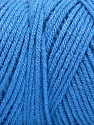 Items made with this yarn are machine washable & dryable. Fiber Content 100% Dralon Acrylic, Brand Ice Yarns, Blue, Yarn Thickness 4 Medium  Worsted, Afghan, Aran, fnt2-52950