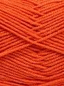 Fasergehalt 50% Acryl, 50% Bambus, Brand Ice Yarns, Dark Orange, Yarn Thickness 2 Fine  Sport, Baby, fnt2-53094