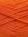 Fasergehalt 50% Acryl, 50% Bambus, Orange, Brand Ice Yarns, Yarn Thickness 2 Fine  Sport, Baby, fnt2-53095