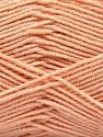 Fasergehalt 50% Acryl, 50% Bambus, Light Salmon, Brand Ice Yarns, Yarn Thickness 2 Fine  Sport, Baby, fnt2-53096