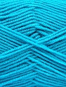 Fiber Content 50% Acrylic, 50% Bamboo, Turquoise, Brand Ice Yarns, Yarn Thickness 2 Fine  Sport, Baby, fnt2-53098