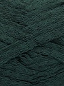Fiber Content 100% Cotton, Brand Ice Yarns, Dark Green, Yarn Thickness 5 Bulky  Chunky, Craft, Rug, fnt2-53223
