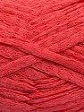 Fiber Content 100% Cotton, Salmon, Brand Ice Yarns, Yarn Thickness 5 Bulky  Chunky, Craft, Rug, fnt2-53229