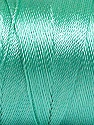 Fiber Content 100% Polyester, Mint Green, Brand Ice Yarns, Yarn Thickness 0 Lace  Fingering Crochet Thread, fnt2-53239