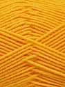 Fiber Content 50% Acrylic, 50% Bamboo, Yellow, Brand Ice Yarns, fnt2-53331