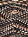 Fasergehalt 50% Superwash Merino Wool, 25% Polyamid, 25% Bambus, Brand Ice Yarns, Grey, Camel, Brown, fnt2-53334