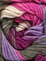 Fiber Content 100% Premium Acrylic, White, Purple, Pink, Lilac, Brand Ice Yarns, Grey, fnt2-53519