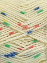Fiber indhold 100% Akryl, Yellow, Salmon, Brand Ice Yarns, Green, Cream, Blue, fnt2-53526