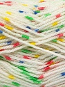 Fiber indhold 100% Akryl, Yellow, White, Pink, Brand Ice Yarns, Green, Blue, fnt2-53527
