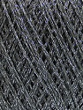 Fiber Content 75% Polyester, 25% Lurex, Brand Ice Yarns, Grey, Yarn Thickness 2 Fine  Sport, Baby, fnt2-53545