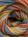 Fiber Content 60% Acrylic, 20% Angora, 20% Wool, Salmon, Brand ICE, Gold, Blue, Beige, Yarn Thickness 2 Fine  Sport, Baby, fnt2-53562