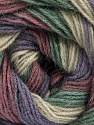 Fasergehalt 60% Acryl, 20% Angora, 20% Wolle, Orchid, Lavender, Brand Ice Yarns, Green, Beige, fnt2-53564