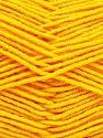 Fiber Content 70% Acrylic, 30% Wool, Yellow, Brand Ice Yarns, Yarn Thickness 4 Medium  Worsted, Afghan, Aran, fnt2-53718