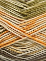 Fiber Content 50% Cotton, 50% Acrylic, Yellow, Brand Ice Yarns, Green, Cream, Camel, Yarn Thickness 2 Fine  Sport, Baby, fnt2-53759