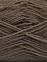 Fiber Content 55% Virgin Wool, 5% Cashmere, 40% Acrylic, Brand ICE, Dark Camel, Yarn Thickness 2 Fine  Sport, Baby, fnt2-53927