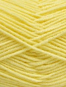 Fasergehalt 50% Acryl, 50% Bambus, Light Yellow, Brand Ice Yarns, fnt2-54130