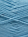 Fiber Content 50% Acrylic, 50% Bamboo, Brand ICE, Baby Blue, Yarn Thickness 2 Fine  Sport, Baby, fnt2-54232