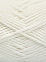 Vezelgehalte 50% SuperFineAcrylic, 50% SuperFineNylon, White, Brand Ice Yarns, fnt2-54328