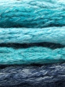 Fasergehalt 66% Acryl, 24% Wolle, 10% Polyamid, Turquoise Shades, Jeans Blue, Brand Ice Yarns, fnt2-54334