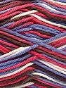 Fasergehalt 100% Baumwolle, White, Lilac, Brand Ice Yarns, Brown, fnt2-54352