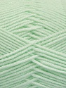 Fiber Content 50% Acrylic, 50% Bamboo, Mint Green, Brand ICE, Yarn Thickness 2 Fine  Sport, Baby, fnt2-54434