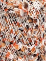 Fiber Content 60% Polyamide, 40% Polyester, White, Orange, Brand ICE, Brown, fnt2-54482