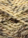 Fiber Content 60% Superwash Wool, 40% Acrylic, Brand Ice Yarns, Cream, Camel, Yarn Thickness 5 Bulky  Chunky, Craft, Rug, fnt2-54564