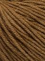 Fiber Content 50% Cotton, 50% Acrylic, Light Brown, Brand ICE, Yarn Thickness 3 Light  DK, Light, Worsted, fnt2-54666