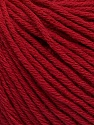 Global Organic Textile Standard (GOTS) Certified Product. CUC-TR-017 PRJ 805332/918191 Состав пряжи 100% Органический хлопок, Brand Ice Yarns, Burgundy, fnt2-54732