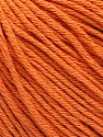 Global Organic Textile Standard (GOTS) Certified Product. CUC-TR-017 PRJ 805332/918191 Fasergehalt 100% Bio-Baumwolle, Orange, Brand Ice Yarns, fnt2-54733