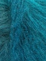 Fasergehalt 47% Acryl, 24% Wolle, 19% Mohair, 10% Polyester, Turquoise Shades, Brand Ice Yarns, fnt2-54756