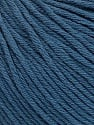 Global Organic Textile Standard (GOTS) Certified Product. CUC-TR-017 PRJ 805332/918191 Fiber Content 100% Organic Cotton, Indigo Blue, Brand ICE, Yarn Thickness 3 Light  DK, Light, Worsted, fnt2-54796