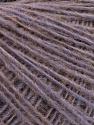 Fiber Content 50% Wool, 50% Acrylic, Lilac Melange, Brand Ice Yarns, Yarn Thickness 2 Fine  Sport, Baby, fnt2-54836
