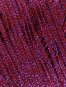 Fiber Content 68% Viscose, 32% Metallic Lurex, Lilac, Brand Ice Yarns, Burgundy, Yarn Thickness 3 Light  DK, Light, Worsted, fnt2-54909