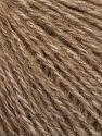 Fiber Content 43% Acrylic, 4% PBT, 36% Alpaca Superfine, 17% Merino Wool, Brand Ice Yarns, Camel Melange, Yarn Thickness 2 Fine  Sport, Baby, fnt2-54984