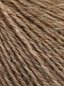 Fasergehalt 43% Acryl, 4% PBT, 36% Alpaca Superfine, 17% Merinowolle, Light Brown Melange, Brand Ice Yarns, fnt2-54985