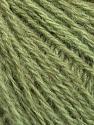 Fiber Content 43% Acrylic, 4% PBT, 36% Alpaca Superfine, 17% Merino Wool, Brand Ice Yarns, Green Melange, Yarn Thickness 2 Fine  Sport, Baby, fnt2-54987