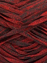 Fasergehalt 82% Viskose, 18% Polyester, Red, Brand Ice Yarns, Black, fnt2-55023