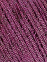 Fasergehalt 68% Viskose, 32% Metallic Lurex, Purple, Brand Ice Yarns, fnt2-55101