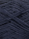 Fiber Content 100% Cotton, Brand Ice Yarns, Dark Navy, Yarn Thickness 2 Fine  Sport, Baby, fnt2-55178