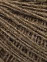 Fiber Content 50% Merino Wool, 25% Acrylic, 25% Alpaca, Brand Ice Yarns, Brown, Yarn Thickness 2 Fine  Sport, Baby, fnt2-55200