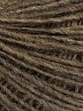 Fiber Content 50% Merino Wool, 25% Acrylic, 25% Alpaca, Brand Ice Yarns, Brown, Yarn Thickness 2 Fine  Sport, Baby, fnt2-55201
