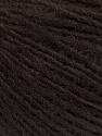 Fiber Content 50% Merino Wool, 25% Alpaca, 25% Acrylic, Brand Ice Yarns, Dark Brown, Yarn Thickness 2 Fine  Sport, Baby, fnt2-55203