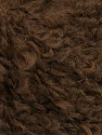 Fasergehalt 45% Acryl, 25% Wolle, 20% Mohair, 10% Polyamid, Brand Ice Yarns, Brown, fnt2-55227