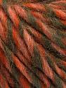Fiber Content 50% Merino Wool, 25% Acrylic, 25% Alpaca, Salmon, Orange, Khaki, Brand Ice Yarns, Yarn Thickness 5 Bulky  Chunky, Craft, Rug, fnt2-55239